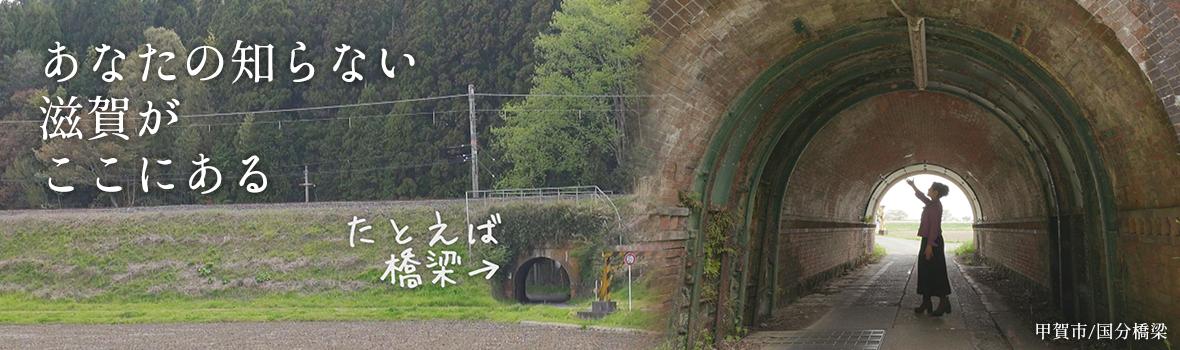 【滋賀の隧道】国分橋梁